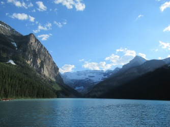 Lake Louise 's avonds