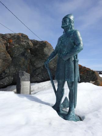 Leif Erikson op Newfoundland